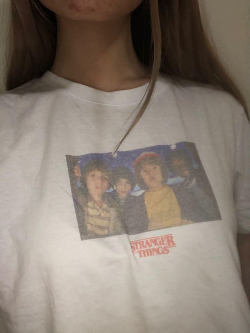 Cotton on stranger things crop top