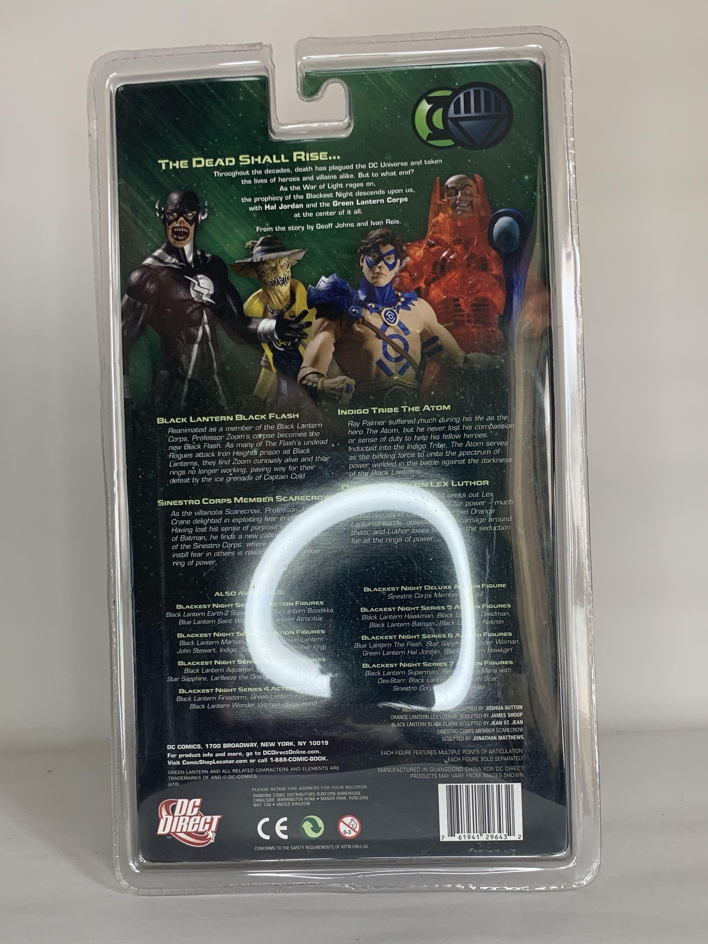 Dc Blackest Night Black Lantern Wonder Woman Flash Action Figure Toys Games Bricks Figurines On Carousell