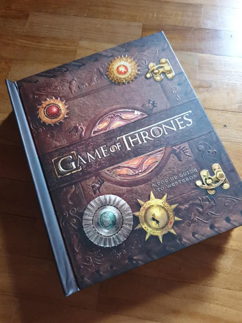 Game of Thrones Westeros Pop Up Guide