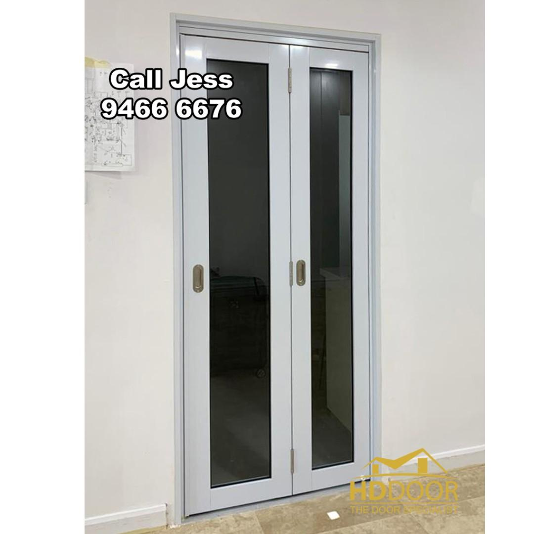 HDB Bi-fold Design Toilet Door you can choose any