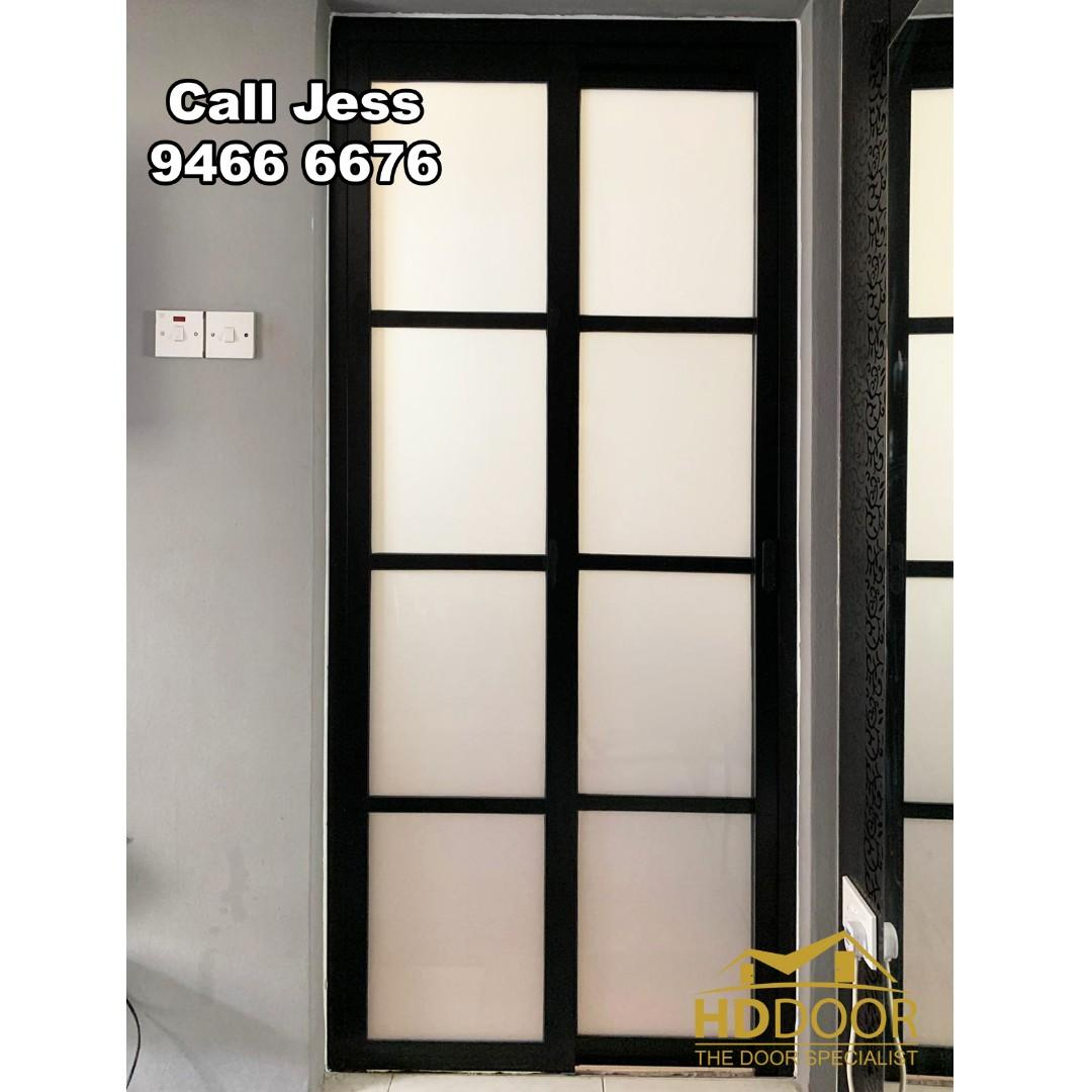 HDB Slide&Swing Design with Louver Design you can choose you like