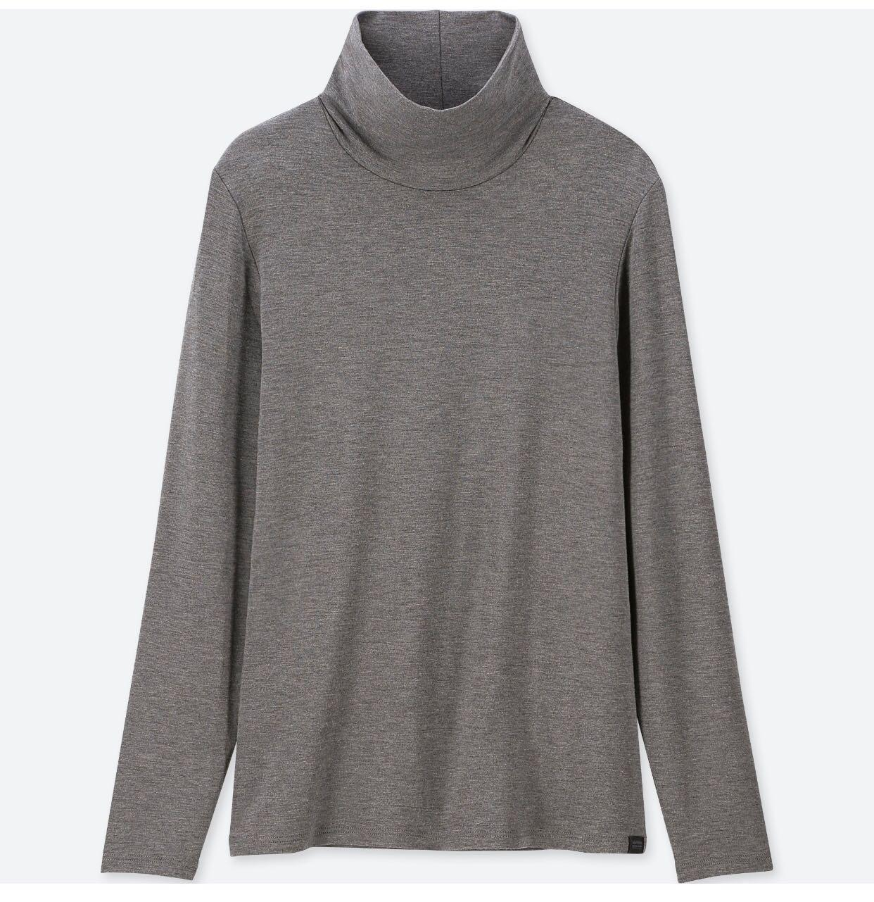 Uniqlo Heattech extra warm turtle neck T-shirt (small)