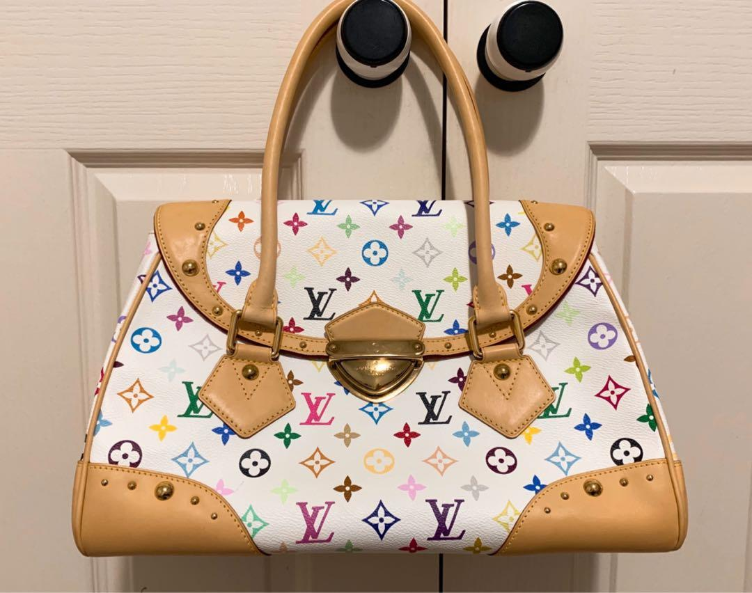 LV Authentic Louis Vuitton Beverly Monogram Multicolore