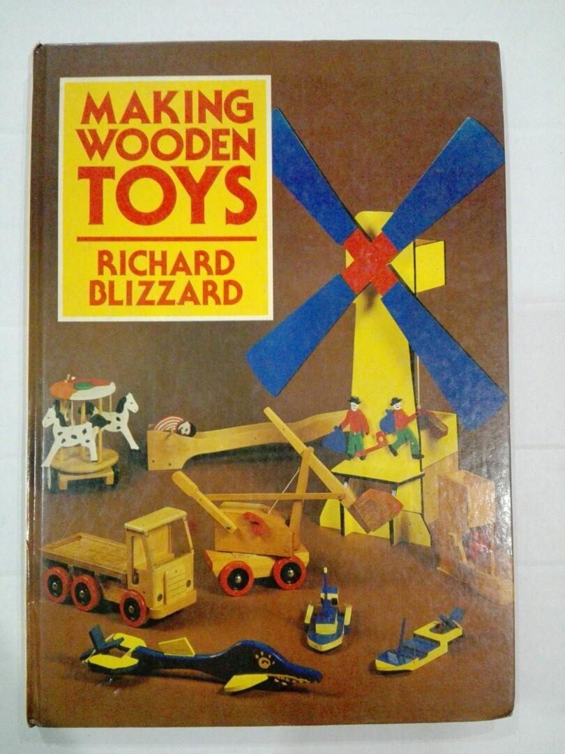 Making Wooden Toys Richard Blizzard