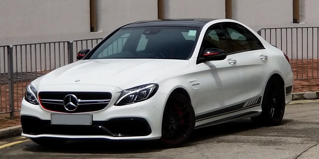 MERCEDES-AMG C63S Edition 1 2015