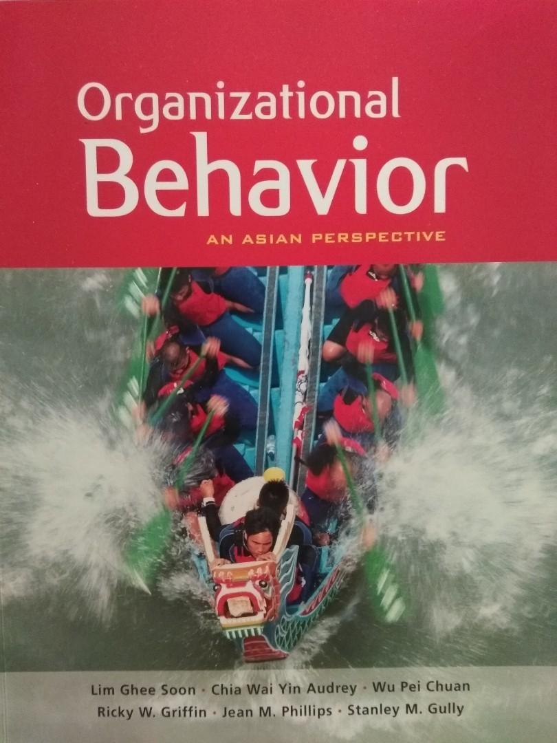 MNO1706 - Organisational Behaviour - An Asian Perspective