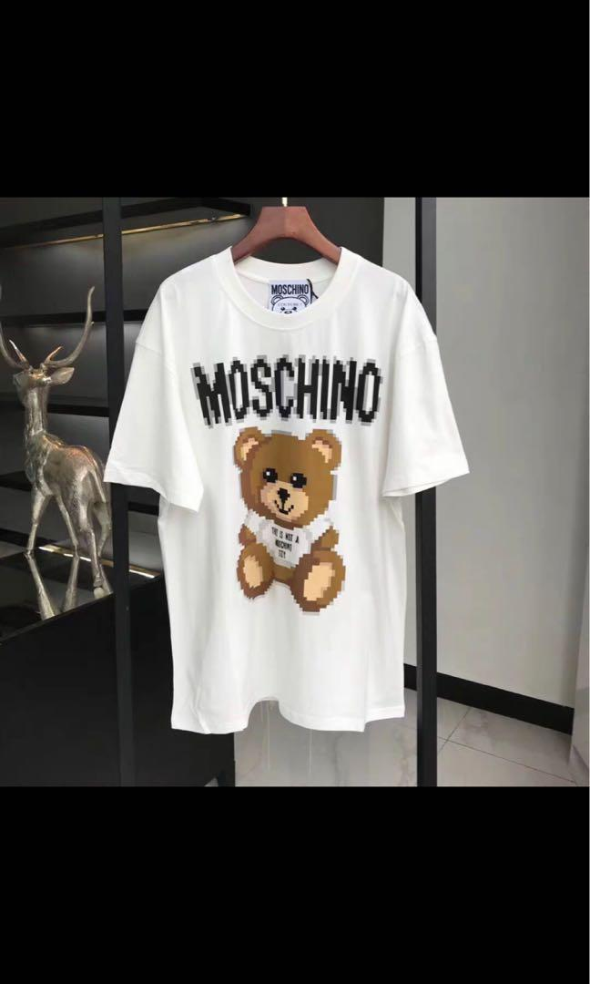 Moschino Tee 馬賽克熊