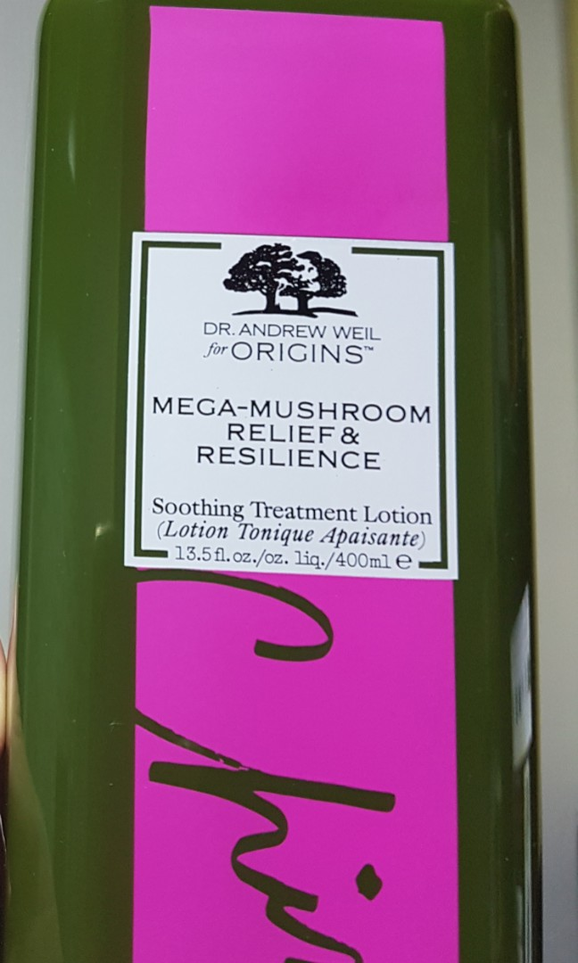 400ml Dr  Andrew Weil for Origins™ Mega-Mushroom Relief & Resilience  Soothing Treatment Lotion