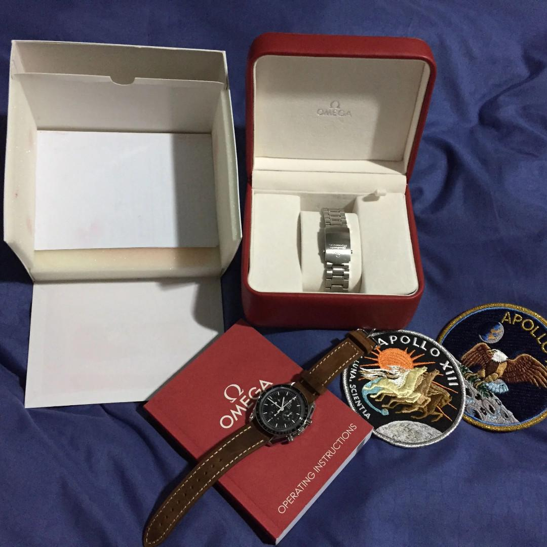 Omega speedmaster professional moonwatch sapphire