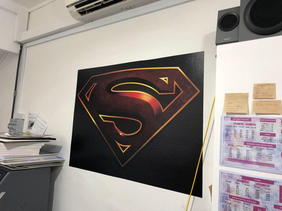 Poster foamboard PVC Banner