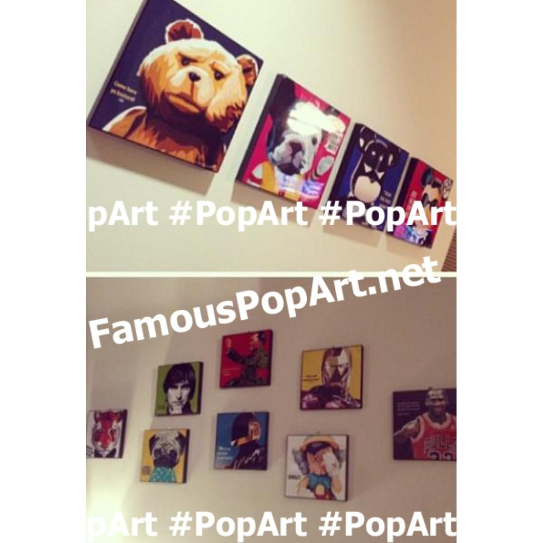 Professor Charles Xavier PopArt! Wall Portrait Pop Art