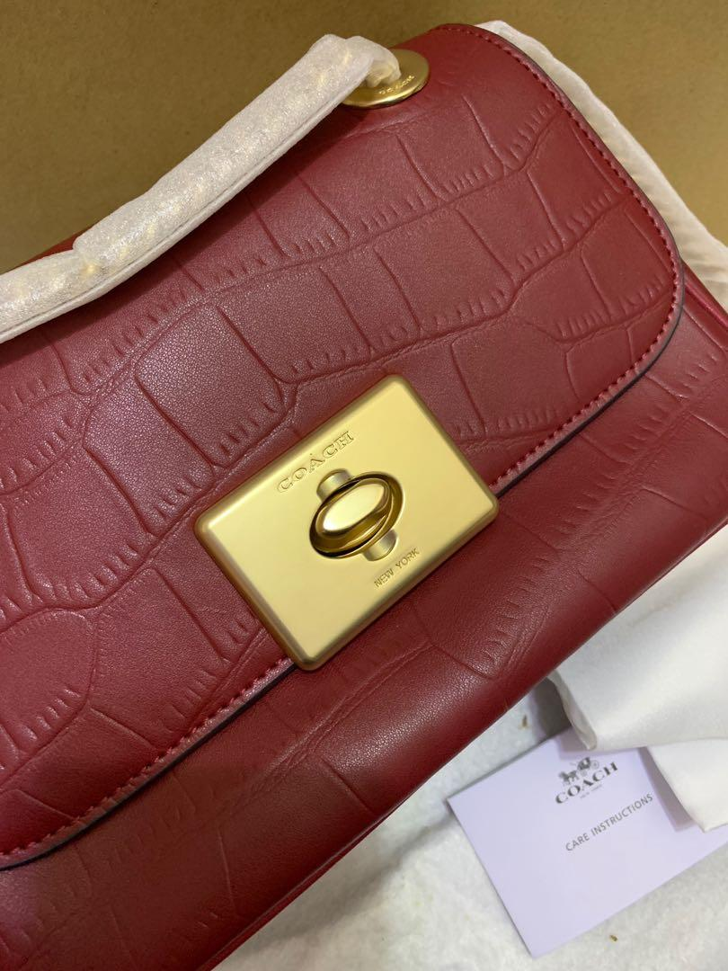 Ready Stock Authentic coach 38081 women sling bag crossbody bag ready stock
