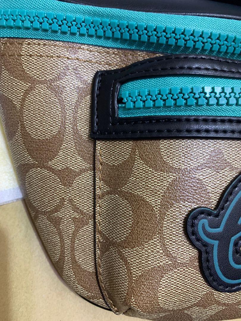 Ready Stock Authentic Coach men chest bag 72931 Crossbody sling bag
