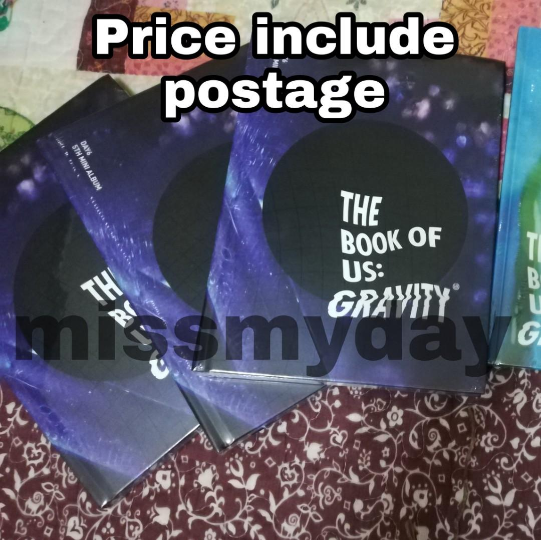 [READY STOCK] DAY6 The Book Of Us: Gravity (Sealed & Soul ver)