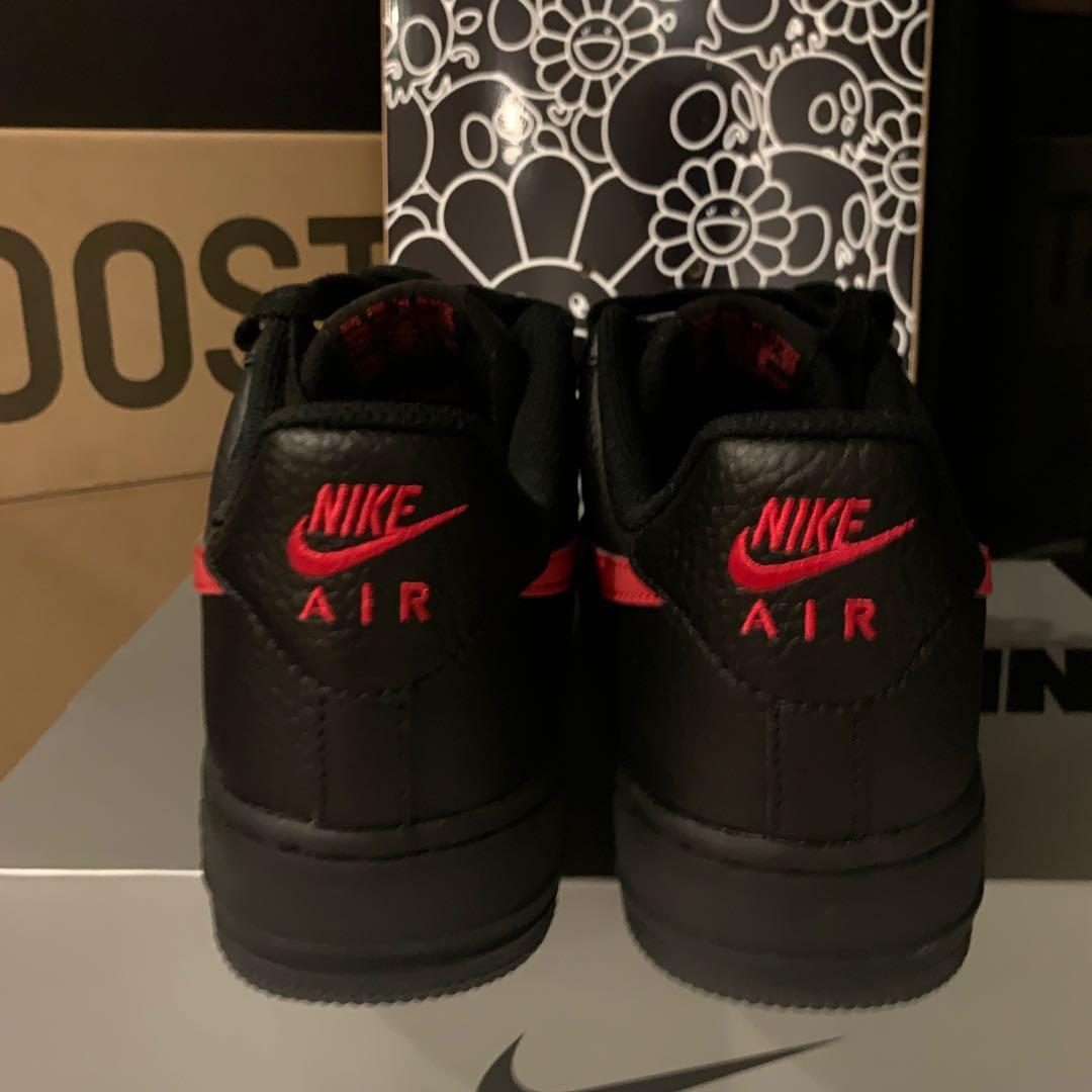 Red and Black Air Force 1 '07