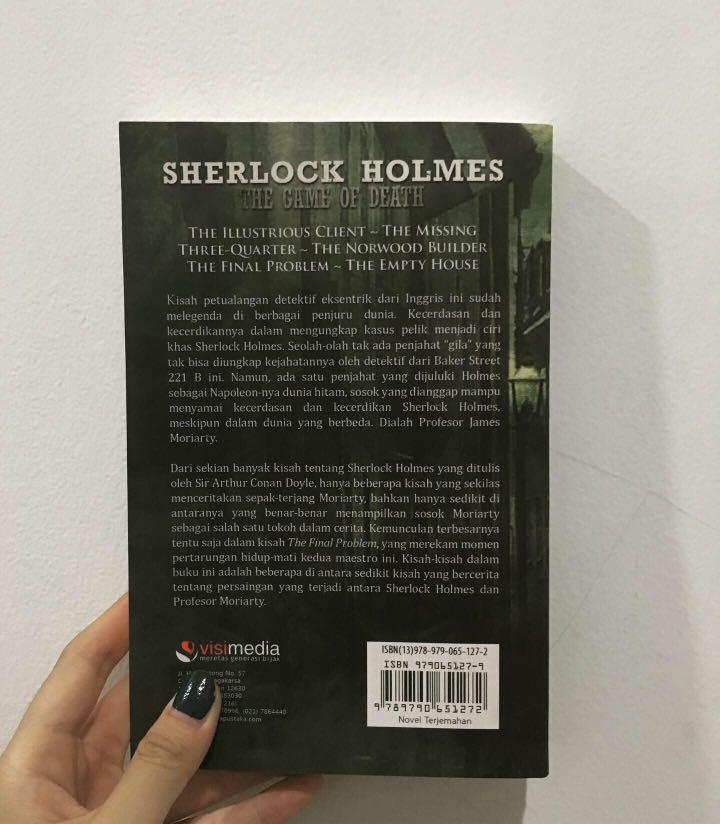 Sherlock Holmes The Game Of Death - Sir Arthur Conan Doyle