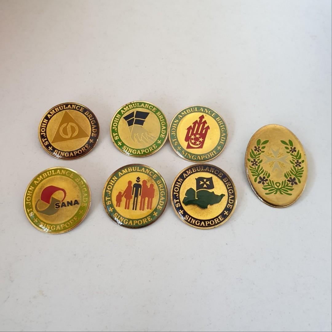 SJAB Badges for collection