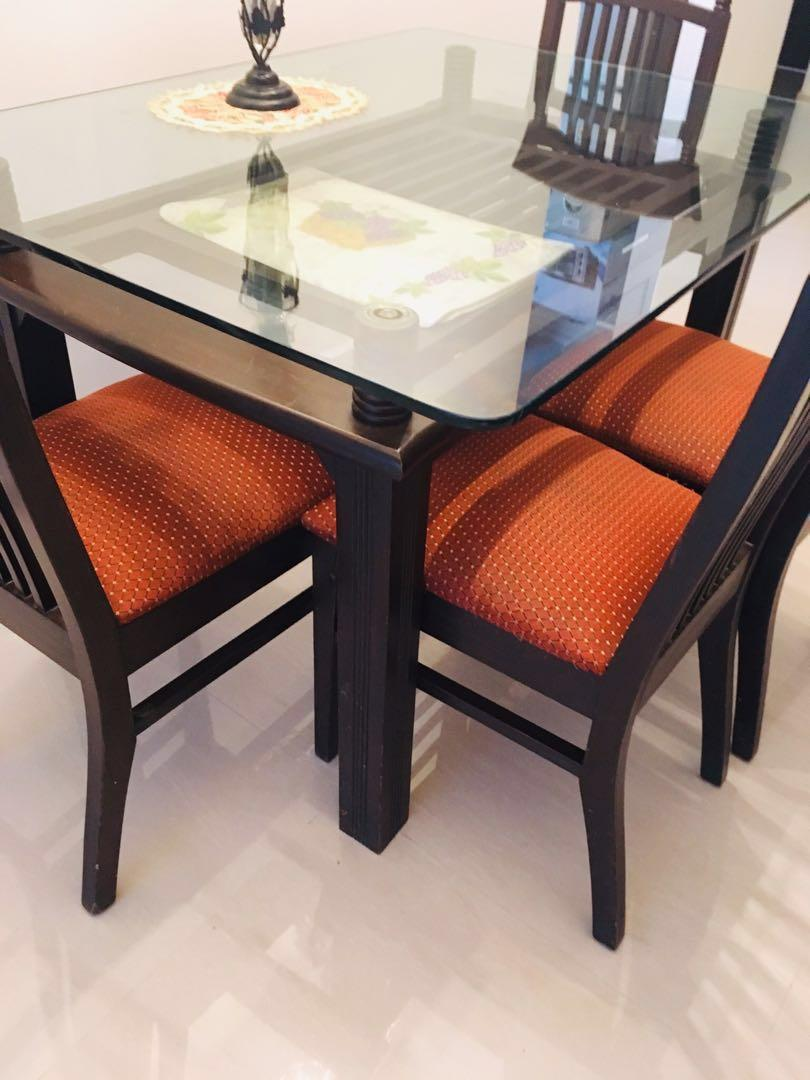 Stylish Dining Set Table And Four