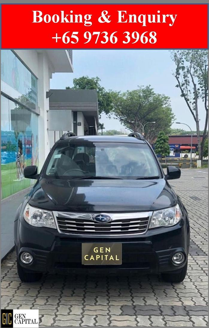 Subaru Forester 2.0A *Lowest rental rates, good condition!