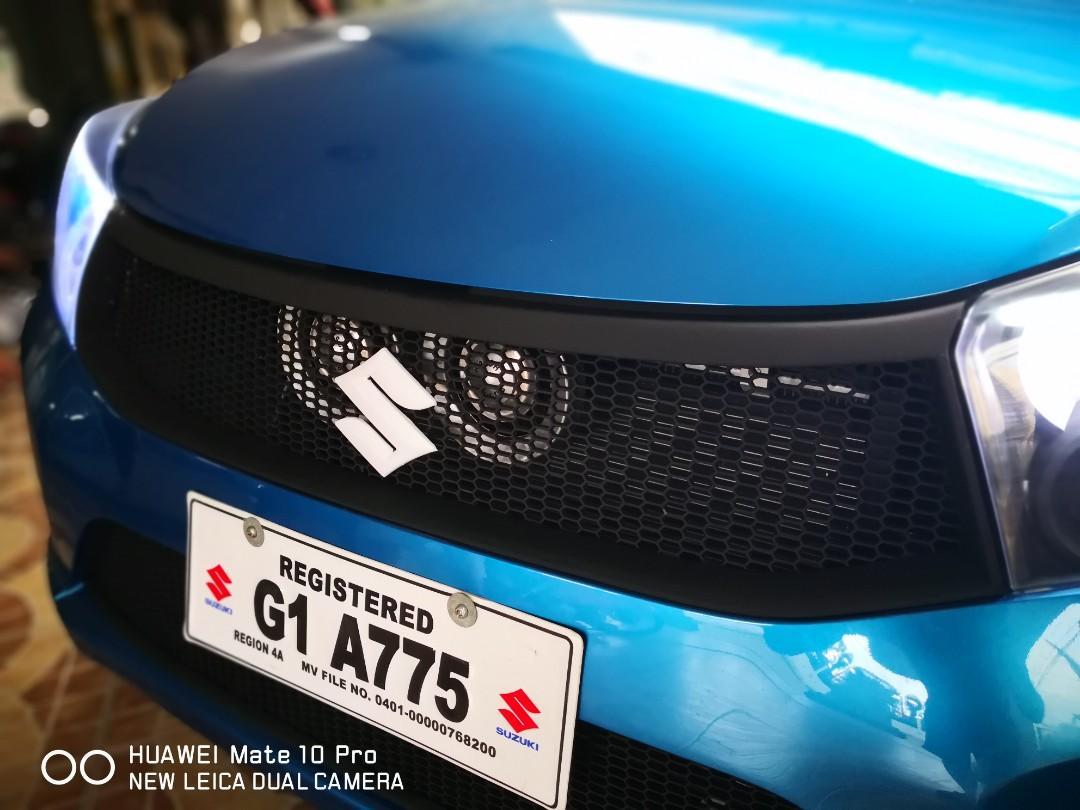 Suzuki Celerio Honeycomb Meshgrill Conversion, Car Parts & Accessories, Body Parts and