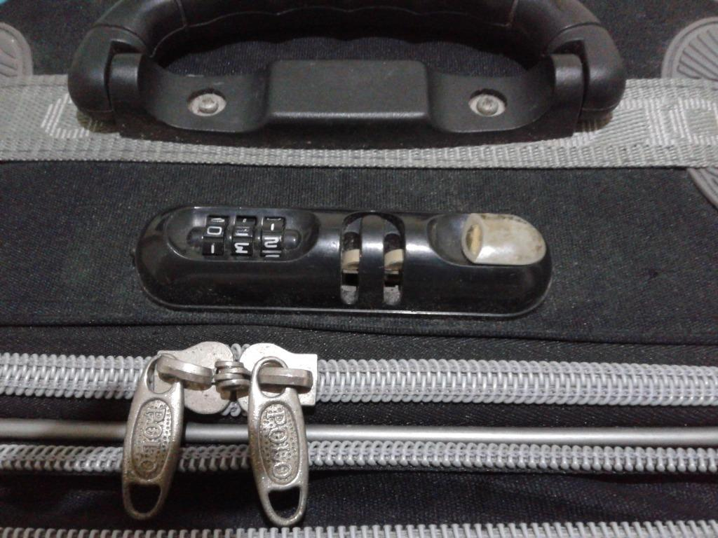 Tas Koper Travel Bagasi Roda / Wheel Luggage Travel Bag Polo Sky