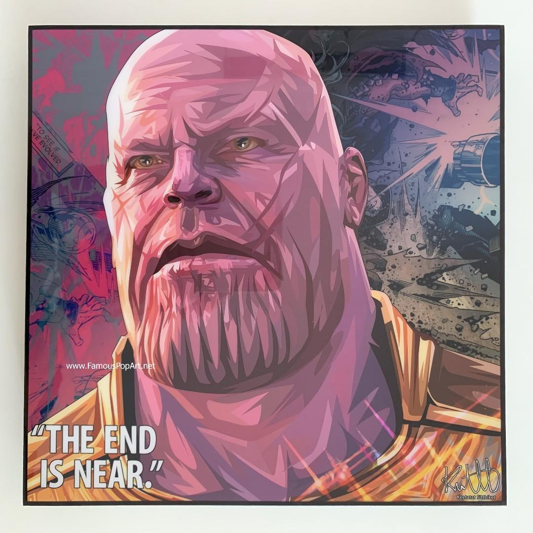 THANOS PopArt! Wall Portrait Pop Art
