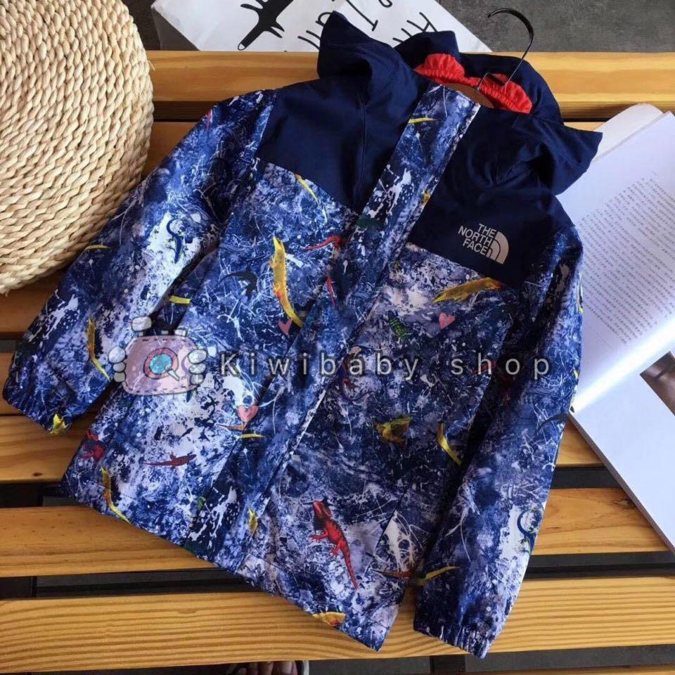 👕The north face兒童加絨外套👦🏻👧🏻
