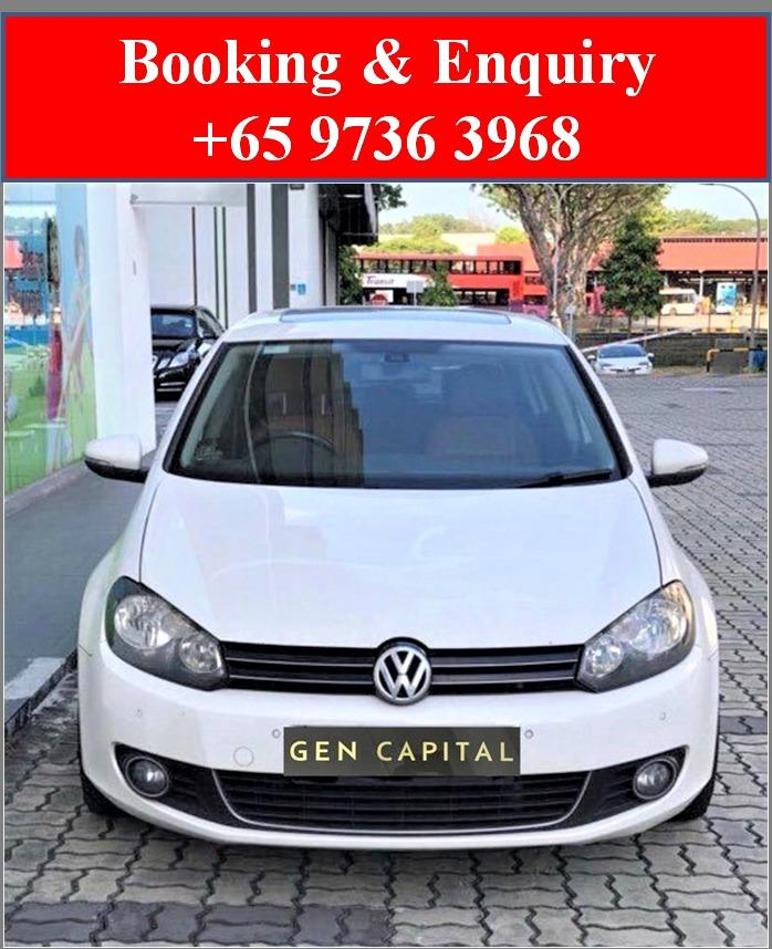 Volkswagen Golf *Lowest rental rates, good condition!