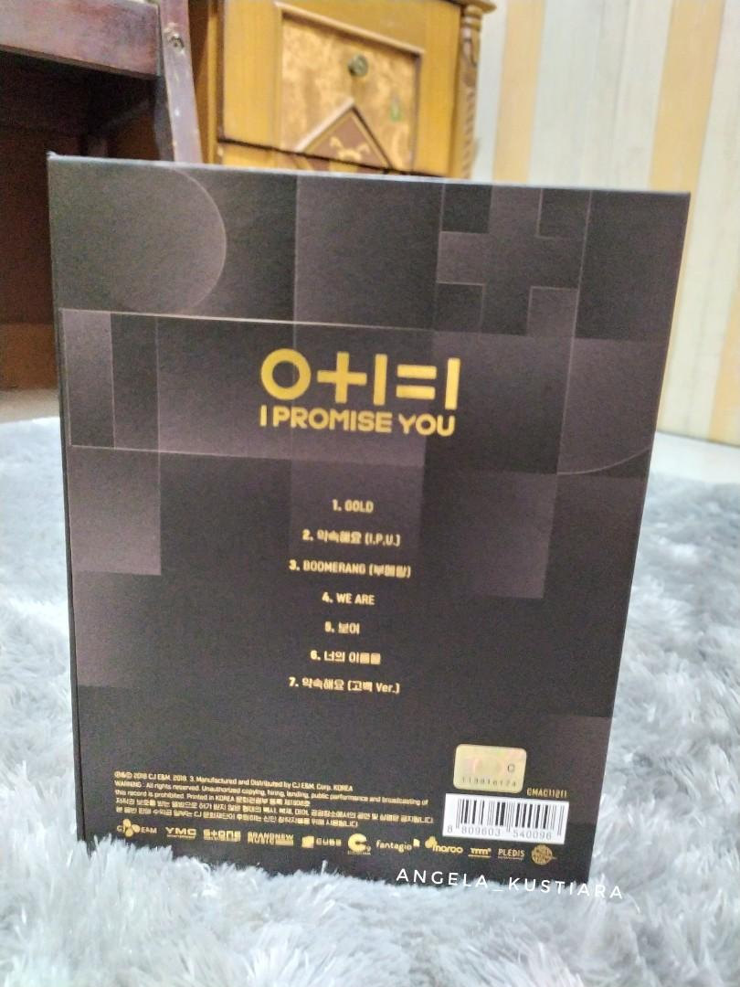 Wanna One 0+1=1 (I Promise You) Album (No Poster!)