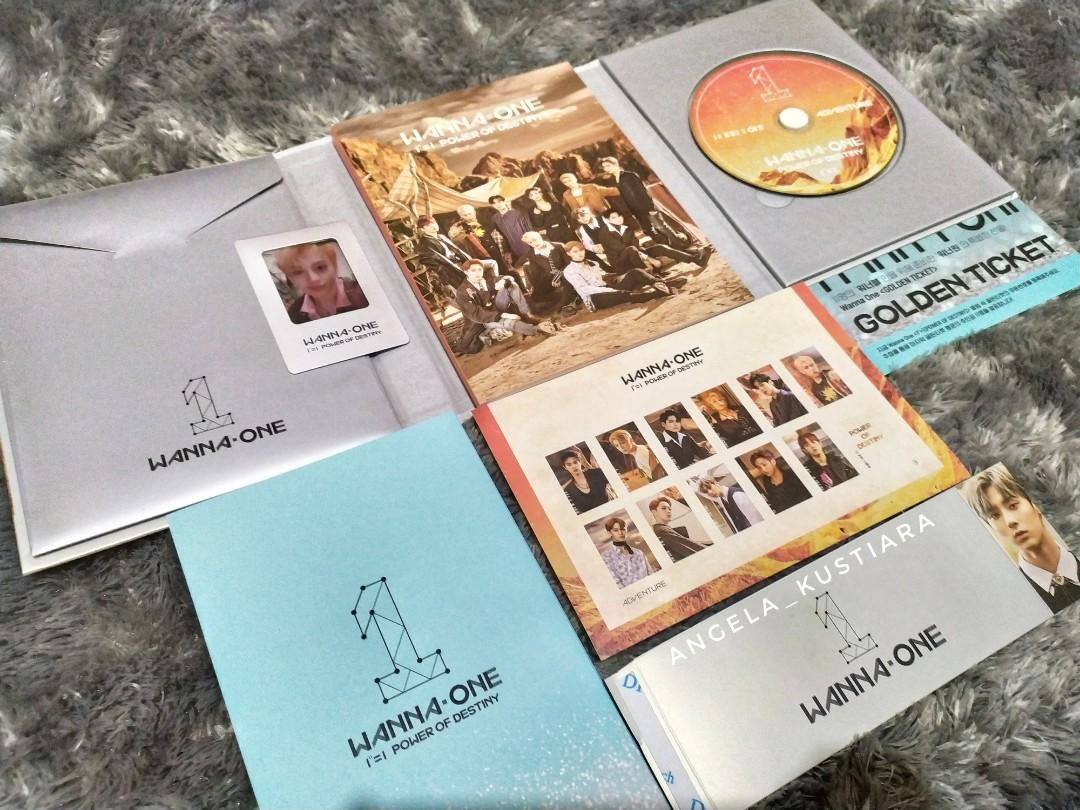 "Wanna One 1""=1 (Power Of Destiny) Album (No Poster!)"