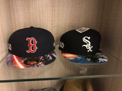 MLB Boston Red Sax&Chicago White Sax  star wars聯名款一組*2