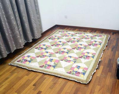Carpet Toto Patchwork QUEEN VIRAL