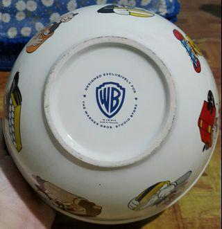 Mangkok Warner Bros (WB) Designed Exclusively