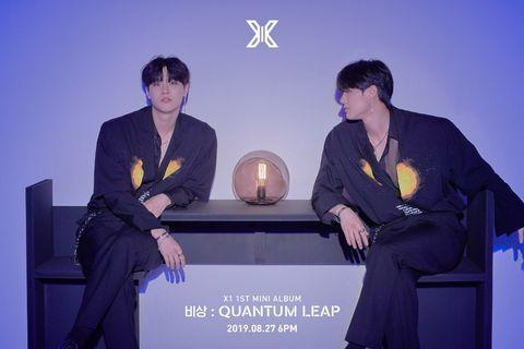 (LOOSE ITEM) X1 Quantum Leap 1st mini album KHINO
