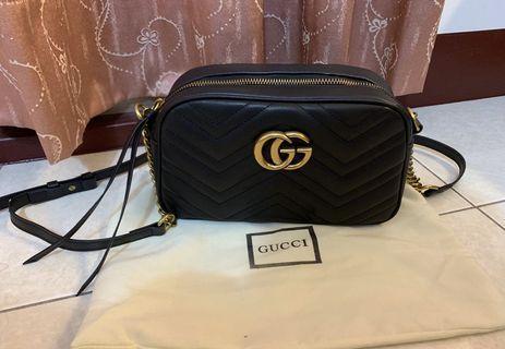 Gucci GG Marmont 單肩包 相機包