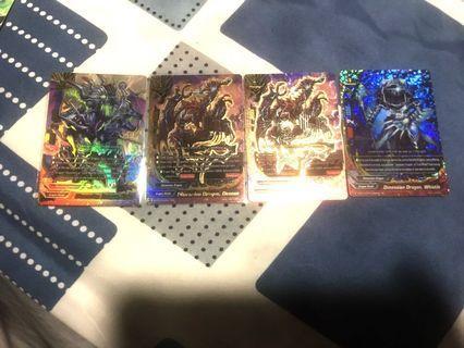 Buddyfight dimension dragons