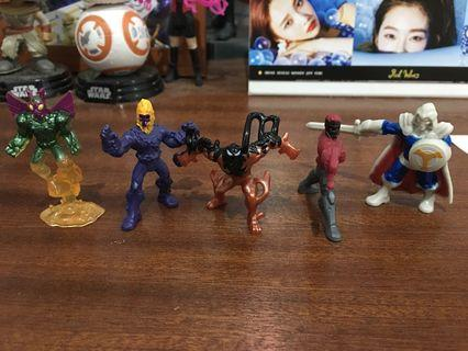 WTS Marvel 500 micro figures
