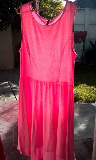 Dress Pink H&M #LalamoveCarousell #HBDCarousell