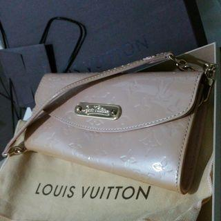 BNIB Louis Vuitton LV Vernis Sunset Boulevard Clutch Wallet Shoulder Bag