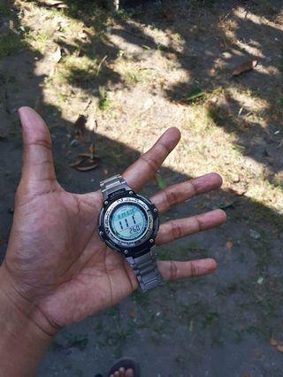 Jam Tangan Casio SGW-100 (compas+thermo)