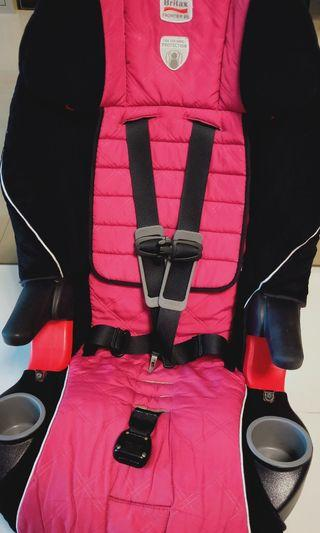 Preloved Britax frontier 85 Harness-2-Booster Seat. Car seat