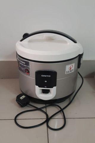 MMX - Orito 1.8L Electric Rice Cooker (Malaysia Plug)
