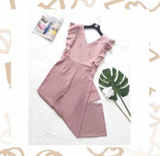 New lucca jumpsuit in pink
