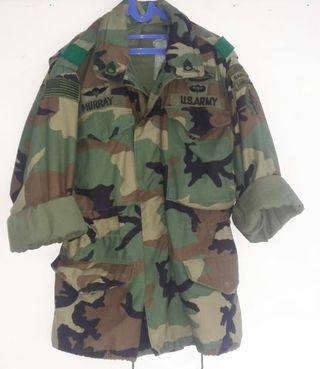 Jaket Army m65 woodland