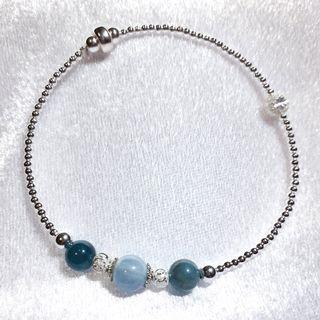 ⚜海藍寶手鍊