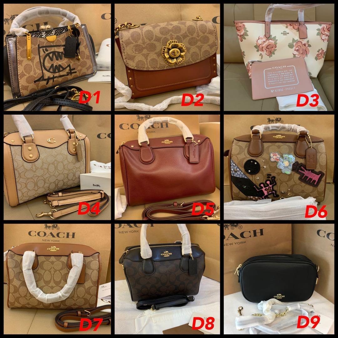 (14/08/19)Authentic Tory Burch women bag Marc Jacobs camera bag coach backpack belt bag sling bag woc wristlet wallet listing jjjnjj