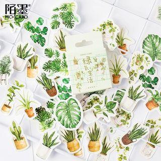AESTHETIC PLANT STICKERS