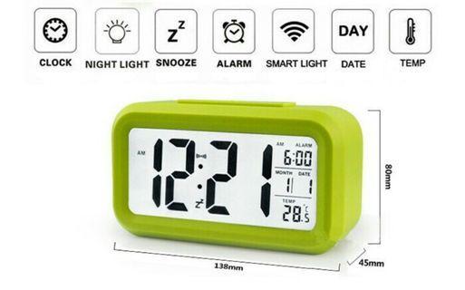 Jam Weker Digital Smart Clock
