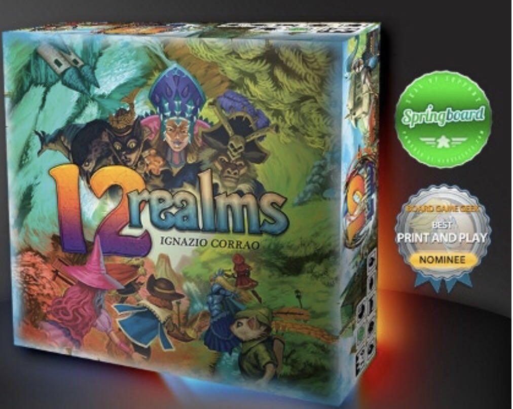 12 Realms Board Game