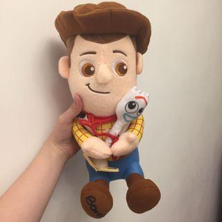 💛Toy Story 4 Woody & Forky Japan Plush🌟